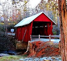 *Campbell's Covered Bridge* by Darlene Lankford Honeycutt