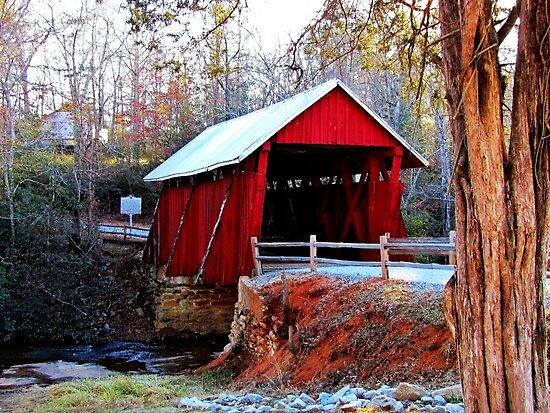 *Campbell's Covered Bridge* by Darlene Lankford Honeycutt