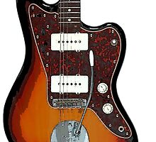 Fender Jaguar two tone tobacco by Matterotica