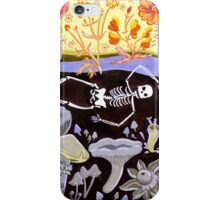 A Joyful Celebration of Death iPhone Case/Skin