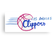 Los Angeles Clippers design Canvas Print