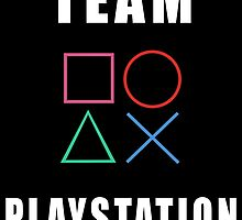 Team Playstation - Nerdy Gamer Sony Supporter by Mellark90