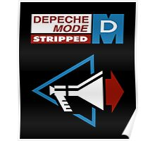 Depeche Mode : Stripped - Logo Poster