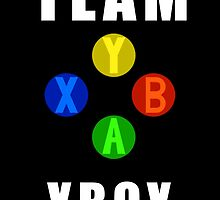 Team XBox- Nerdy Gamer Microsoft Supporter by Mellark90