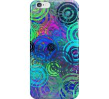 Abstract Colorful Rings iPhone Case/Skin