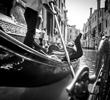 Gondola Ride in Venice by nicolecregg