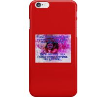 Ruler of Hell iPhone Case/Skin