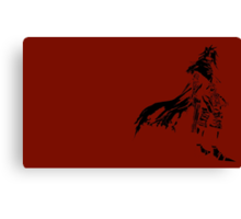 Vincent Valentine Minimalist Red Canvas Print