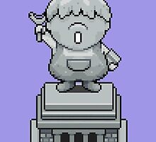 King Pokey Statue - Mother 3 by Studio Momo ╰༼ ಠ益ಠ ༽