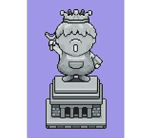 King Pokey Statue - Mother 3 Photographic Print