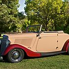 1934 Ford Cabriolet II by DaveKoontz