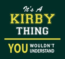 It's A KIRBY thing, you wouldn't understand !! by satro