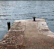 dock on pier lake by spetenfia