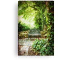 A Restful Retreat Canvas Print