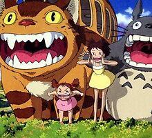 My Neighbor Totoro by MyPotatoRomance