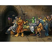 Muppet Death of Socrates Photographic Print