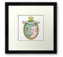 Aquarius. Cartoon horoscope. Framed Print