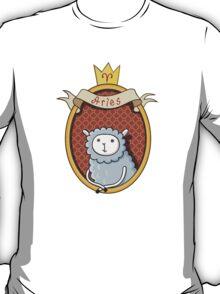 Aries. Cartoon horoscope. T-Shirt