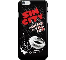 Sin City IPhone 5s clase - black iPhone Case/Skin