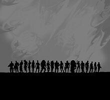 Mass Effect - All the Cast by Mellark90