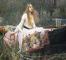 Waterhouse - The Lady of Shalott by William Martin