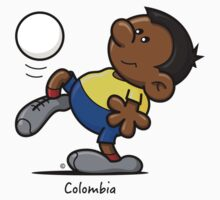 2014 World Cup - Colombia by spaghettiarts