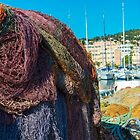 Discarded Fishing nets by DavidMay