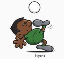 2014 World Cup - Nigeria by spaghettiarts