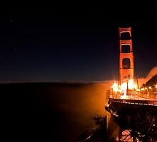 Good Night Golden Gate by ericmolyneaux