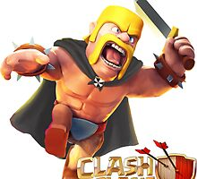 Clash of Clans Barbarian by Jungyoomi