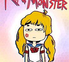 Rap Monster Sailor Moon Chibi by Hannah Granoff