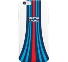 Martini Racing Stripes iPhone Case/Skin