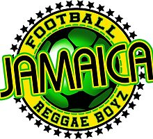Football Jamaica Reggae Boyz by extracom