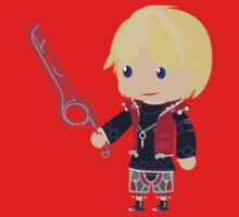 Chibi Shulk Vector Kids Clothes