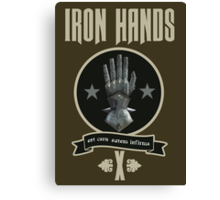 Iron Hands X - Warhammer Canvas Print