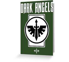 Dark Angels I - Warhammer Greeting Card