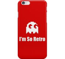 I'm So Retro - Atari - 80s Computer Game - Pacman T-Shirt iPhone Case/Skin