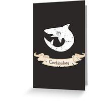 Carcharodons - Warhammer Greeting Card