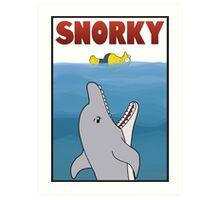 Snorky (Jaws) Art Print