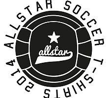All Star Soccer T-Shirts - Soccer Apparel by springwoodbooks