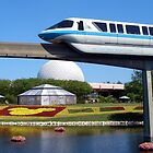 Epcot Monorail by djphoto