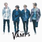 The Vamps - Blue by Qistina Iskandar