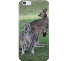 Two Kanagaroos iPhone Case/Skin
