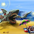 Zombie Megalodon by Chris Moet