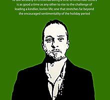 Derren Brown Christmas message by DJVYEATES