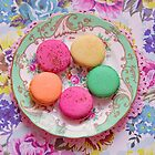 Pretty pastel macarons by Zoe Power