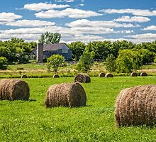Hay bales by PhotosByHealy
