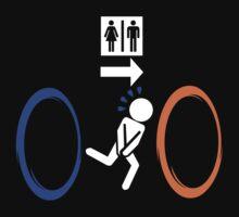 Portal - Aperture Science Laboratories Toilet by metacortex