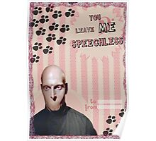 My Teenwolfed Valentine[You Leave Me Speechless] Poster