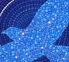 Aquila- the Eagle Constellation Sticker